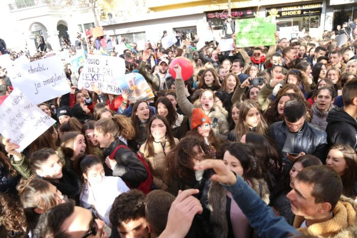 Më 7 janar rikthehen protestat studentore. Po në Gjirokastër?