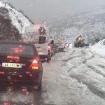 Dëbora, shihni çfarë ndodh në rrugën Gjirokastër-Tepelenë (FOTO)