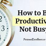 4 këshilla si të jeni produktivë gjatë vitti 2019