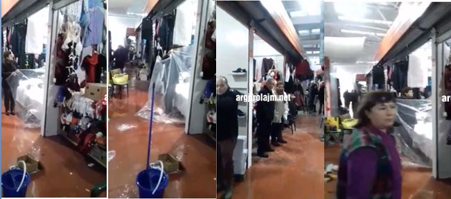 Thirrje për tregtarët e Gjirokastrës: Refuzoni të paguani tarifën në bashki, derisa të rregullohet çatia e tregut