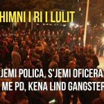 Parrulla e re e militantëve të Bashës: Nuk jena polica, s'jena oficera, jena me PD, kena lind gangstera