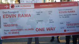 Protesta e opozitës, PD Vlorë i pret Ramës biletën për në të… sëmës