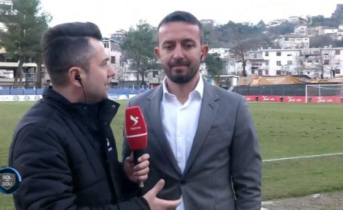 Kriza te Luftëtari, trajneri Ahmataj flet pas barazimit në Gjirokastër