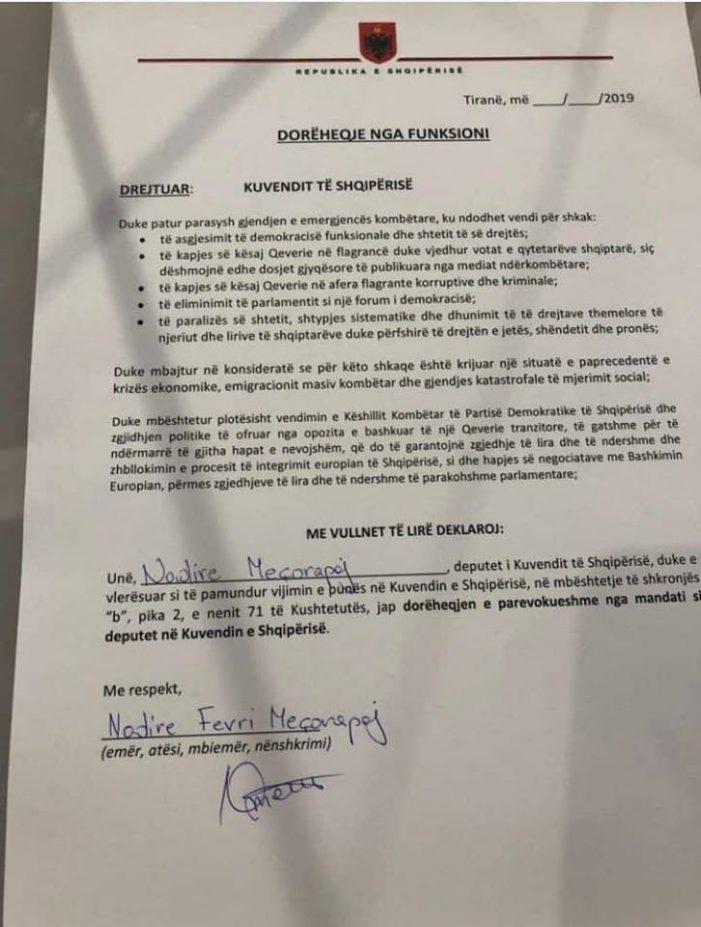 Djegia e mandateve, zbulohet 'hileja' e deputetëve të opozitës: Letra pa datë, pa protokoll…