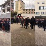 Gjirokastra lë Ramën pa fjalë, shihni çfarë i bëjnë kur po futet në Pallatin e Sportit (VIDEO)