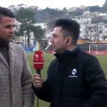 Ndeshja në Gjirokastër, një tifoz i veçantë në shkallët e stadiumit