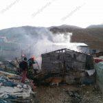 Tenxherja me fasule e harruar në zjarr shkrumbon barakën e romëve në Gjirokastër