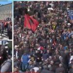 PD fryn shifrat e protestës: Nga Gjirokastra erdhën në Tiranë 2 mijë vetë