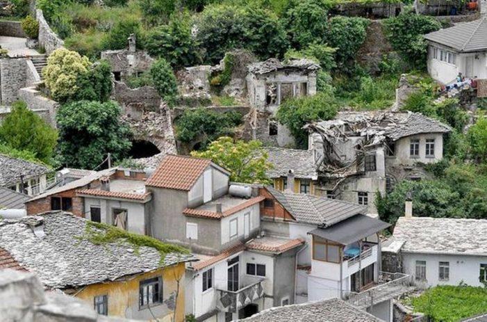 Gjirokastër, rrezikon shembjen një tjetër banesë monument kulture (VIDEO)