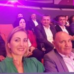Kandidatja e mundshme për Bashkinë Gjirokastër, selfie nga Kongresi me Tërmet Peçin, Klement Ndonin dhe Dhimo Koten