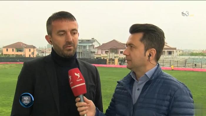 Trajneri i Luftëtarit shpjegon humbjen përballë Kastriotit