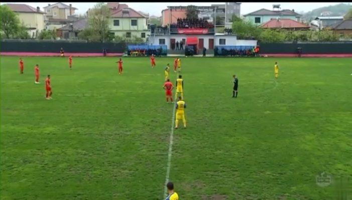 Ndeshja për mbijetesë, Luftëtari pëson gol nga Kastrioti