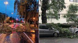 Moti i keq pushton Ballkanin, ja vendet që rrezikojnë përmbytje