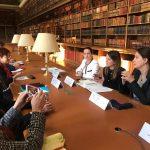 Hapja e negociatave, Mirela Kumbaro e Senida Mesi bashkë me Rudina Hajdarin në Paris (FOTO)
