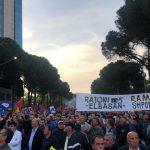 'Rama ik', nis protesta e gjashtë e opozitës (VIDEO LIVE)