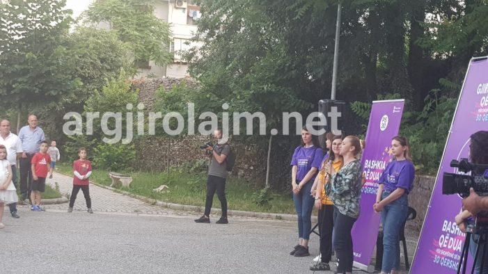 Fushata në Gjirokastër, Lindita Rovën e kap entuziasmi: Flamur Golemin e duam kryetar bashkie minimumi 12 vjet