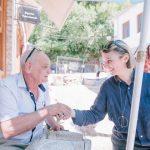 Ministrja e Kulturës inspekton punimet në kalldrëmin e Gjirokastrës: Do ndryshojë dinamika e qytetit (FOTO)