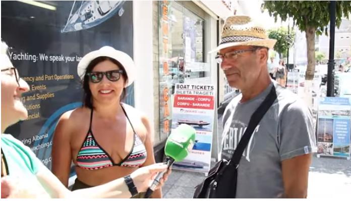 Turizmi në Sarandë, të huajt shprehen të kënaqur, shqiptarët ankohen për çmimet (VIDEO)