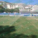Në Gjirokastër kujtohen të pastrojnë stadiumin nga bari (FOTO)