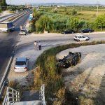 """Aksident i rëndë tek """"Pushimi i Shoferit"""", përplasen 3 makina"""